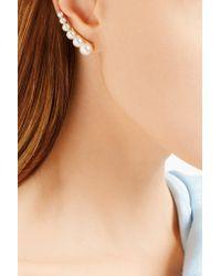 Sophie Bille Brahe - Metallic Croissant De Perle 14-karat Gold Pearl Ear Cuff - Lyst