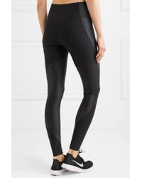 Nike - Black Power Printed Dri-fit Stretch Leggings - Lyst