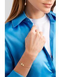 Alison Lou - Metallic Bowtie 14-karat Gold Bracelet - Lyst