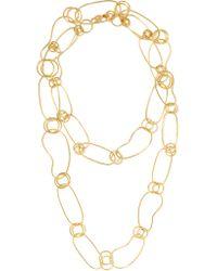 Ippolita - Metallic Glamazon 18-karat Gold Necklace - Lyst
