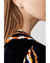 Melissa Joy Manning - Metallic 14-karat Gold Aquamarine Earrings - Lyst