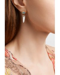 Melissa Joy Manning - Metallic 14-karat Gold, Opal And Pearl Earrings - Lyst