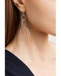 Carolina Bucci - Multicolor Florentine 18-karat White Gold Earrings - Lyst