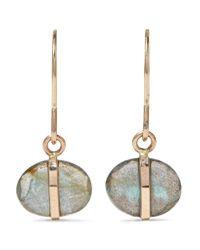 Melissa Joy Manning | Metallic 14-karat Gold Labradorite Earrings | Lyst