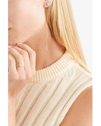 Grace Lee - Metallic Linear Whisper 14-karat Gold Diamond Earring - Lyst