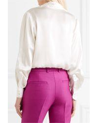 Pallas - White Boreale Button Up Shirt - Lyst