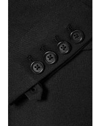 Helmut Lang - Black Cutout Canvas Blazer - Lyst