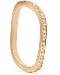Sophie Bille Brahe - Metallic Ocean 18-karat Gold Diamond Ring - Lyst