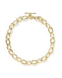 Ippolita - Metallic Classico Bastille 18-karat Gold Necklace - Lyst