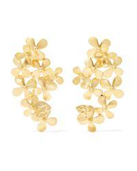 Pippa Small - Metallic 18-karat Gold Earrings - Lyst