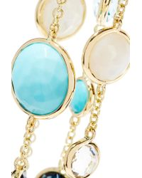 Ippolita   Metallic Rock Candy Lollitini 18-karat Gold Multi-stone Necklace   Lyst