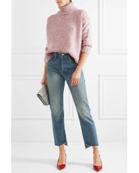 J.Crew - Pink Martin Knitted Turtleneck Sweater - Lyst
