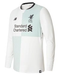 New Balance - White Lfc Mens Firmino Away Ls No Patch Jersey for Men - Lyst
