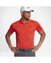 4ec870cc Lyst - Nike Victory Men's Slim Fit Golf Polo Shirt for Men