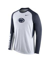 Nike | Blue College Elite Shootaround (penn State) Men's Basketball Shirt for Men | Lyst