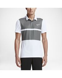 6ecb55d2 Lyst - Nike Mm Fly Framing Block Men's Slim Fit Golf Polo Shirt in ...
