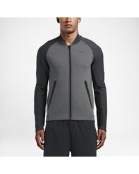 56dff0b06aec Lyst - Nike Therma-sphere Max Men s Training Jacket in Gray for Men