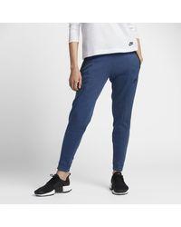 huge discount 755a6 ddc4e Nike Sportswear Tech Fleece Women s Pants in Blue - Lyst