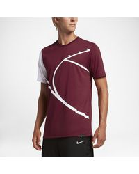 Nike | Red Court Graphic Men's Basketball T-shirt for Men | Lyst