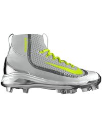 Nike - Metallic Air Huarache 2k Filth Mid Mcs Id Women's Softball Cleat - Lyst