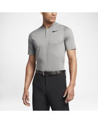 d00dc719599c9 Nike Tw Dry Cotton Blade Men's Standard Fit Golf Polo Shirt in Gray ...