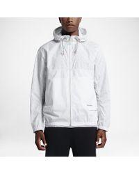 9de1b27cb4f4b3 Lyst - Converse Reflective Packable Men s Windbreaker in White for Men