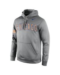 Nike   Gray Camo (mlb Cubs) Men's Performance Hoodie for Men   Lyst