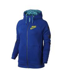 Nike | Blue Braylin's Rally (doernbecher) Women's Full-zip Hoodie | Lyst