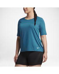 Nike - Blue Pro Hypercool (plus - Lyst