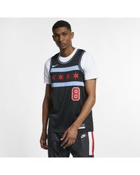 e4cdda914a2d Nike Zach Lavine City Edition Swingman (chicago Bulls) Nba Connected ...