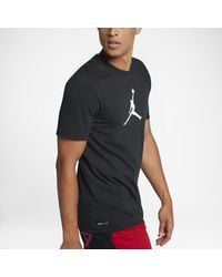 Nike - Black Tee-shirt Jordan Dri-FIT JMTC 23/7 Jumpman pour Homme for Men - Lyst