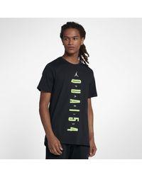 ba98fda6ecad6a Nike Jordan Sportswear Quai 54 Logo T-shirt in Black for Men - Lyst