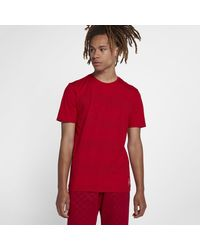 ee8361a37d6e Nike Jordan Aj 3 T-shirt in Red for Men - Lyst