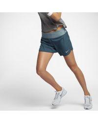 "Nike - Blue Flex Women's 5"" Running Shorts - Lyst"