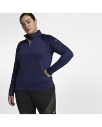 Nike - Blue Pro Hyperwarm (plus - Lyst