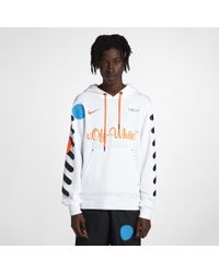 da8618126c32 Lyst - Nike X Off-white Men s Hoodie in White for Men
