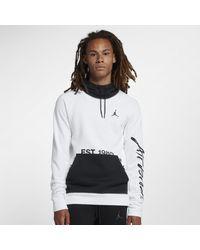 9ef16863df7c5f Nike Jordan Sportswear Greatest Fleece Pullover Hoodie in White for ...