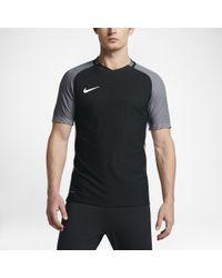 63d8aaeab Lyst - Nike Strike Aeroswift Men's Short Sleeve Soccer Top in Black ...