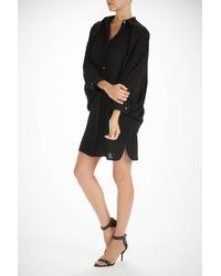 Alexander Wang | Black Batwing Cape Dress | Lyst