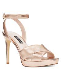 4acc9640814 Nine West. Women s Quisha Ankle Strap Sandals