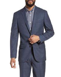 J.Crew - Blue Ludlow Trim Fit Glen Plaid Wool Sport Coat for Men - Lyst