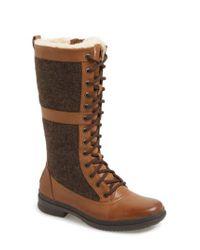 Ugg - Brown Ugg Elvia Waterproof Tall Boot - Lyst