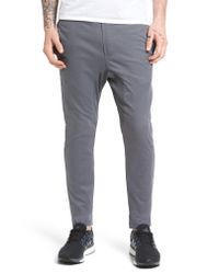 Zanerobe - Gray Salerno Stretch Woven Jogger Pants for Men - Lyst
