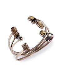 Kendra Scott - Metallic Cammy Set Of 3 Cuffs - Lyst