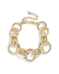 BaubleBar - Metallic Mariya Link Bracelet - Lyst