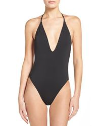 The Bikini Lab - Black One-piece Swimsuit - Lyst