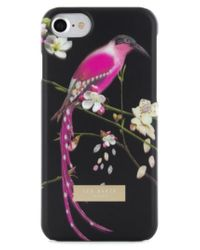 Ted Baker - Black Mireill Iphone 7 Case - Lyst