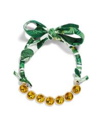 BaubleBar - Green Sorbet Statement Necklace - Lyst