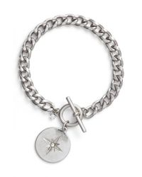 Treasure & Bond - Metallic Star Disc Toggle Bracelet - Lyst