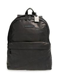 Frye - Black 'tyler' Leather Backpack for Men - Lyst